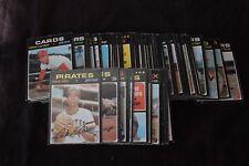 1971 O-pee- chee Baseball lot of 88 cards
