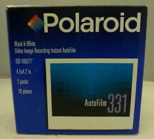 Polaroid 2-Pack AutoFilm 331 Instant Black & White Film 2001 Exp Date NOS