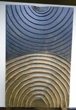 Wooden Circles Art Deco Style Wall Hangings