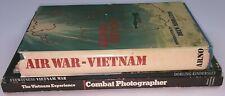 Lot of Three Books: Air War–Vietnam/Eyewitness Vietnam War/Combat Photographer