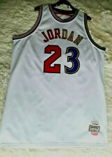 NBA Michael Jordan #23 Chicago Bulls wizards jersey size 56