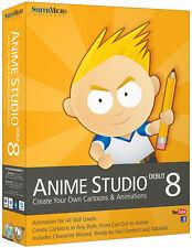 Smith Micro Anime Studio Debut 8 - Win/Mac - NEW RETAIL BOX ASO80HBX2