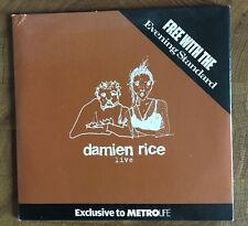 Damien Rice Live Promo CD EP in Cardboard Sleeve MetroLife newspaper UK CD