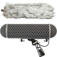 Rode Blimp Wind Shield, Rycote Shock Mount Suspension System for NTG1 NTG2 NTG3