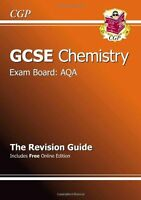 GCSE Chemistry AQA Revision Guide (with online edition) (A*-G course),CGP Books