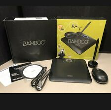 Wacom Bamboo Fun CTE450K Drawing Graphics Tablet Pad, Mouse, Pen, and Manual