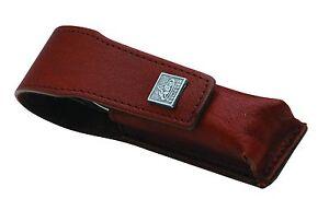 Becker-Manicure Erbe Solingen 2-tlg. Set Manicure Case Nail Leather Braun