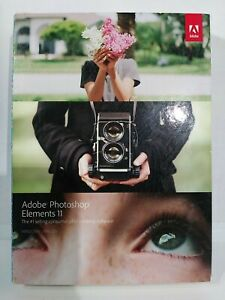 Adobe Photoshop Elements 11 - Open Box But Never Used - Free Shipping!