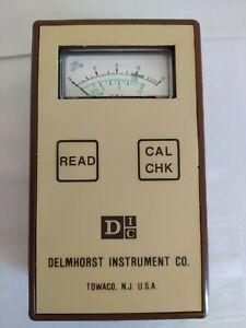 Vintage DELMHORST INSTRUMENT CO.CM-2 / AS IS