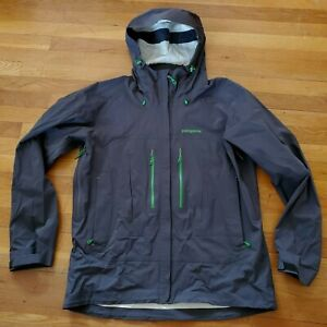 Rare PATAGONIA Troposphere H2No SKI JACKET snowboard Forge Gray L $299