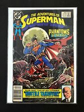 ADVENTURES OF SUPERMAN #453 DC COMICS 1989 VF NEWSSTAND EDITION RARE!
