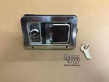 1 X Paddle Lock Stainless Steel Commercial Vehicle Horsebox Recovery Trailer