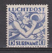 Luchtpost LP 2 MLH ong Suriname 1930 Mercuriuskop airmail luchtpostzegel
