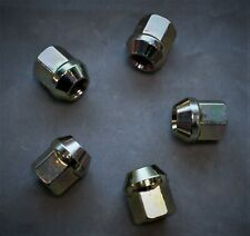 5 pcs. M12-1.50,19mm Hex Plain open Lug Nut (Dorman Equivalent 611-065 ) NN-063