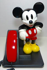 Mickey Mouse AT&T Telephone Push Button Vintage 1990's Phone Walt Disney