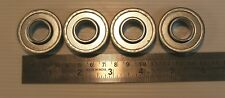 """4 new wheel bearings 1-3/8"""" x 5/8"""" for lawnmowers & other equipment for 1 price"""