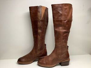 VTG WOMENS TIMBERLAND RIDING BROWN BOOTS SIZE 7