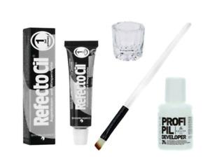 RefectoCil SET/FULL KIT Augenbrauen und Wimpernfarbe mit Accessoires