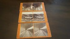 lot of 3 stereo viewer cards