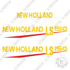 New Holland LS 150 Decal Kit Skid Steer OEM Reproduction Equipment Decals