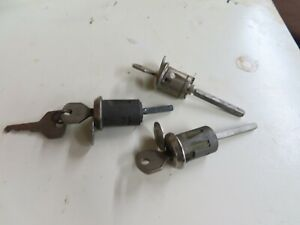 Early Ford V-8 original Hurd door lock cylinders lot of 3 No Reserve