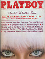 PLAYBOY February 1980-Suzanne Somers' Nude Playmate Test,The Year In Sex,The KKK