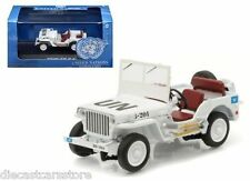 GREENLIGHT JEEP WILLYS UNITED NATIONS UN 1/43 DIECAST MODEL CAR WHITE 86308