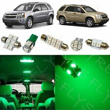 7x Green LED lights conversion kit for 2005-2009 Chevy Equinox/Saturn Vue #CE2G