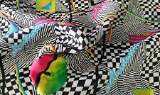 Multicoloured Cheap Retro Vintage Like Dress Lining Craft Fabric Width 170cm