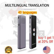 T8+Translaty MUAMA Enence Smart Instant Real Time Voice 40 Languages Translator#