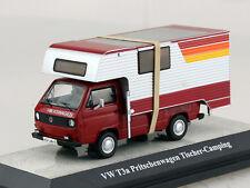 "VW T3 a Pritsche /""Tischer Camping/"" rot Premium ClassiXXs Modellauto 1:43"