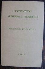 Locomotion aérienne & terrestre. Précurseurs et pionniers. Catalogue