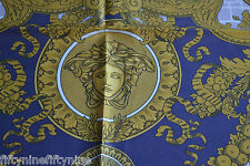 NEW AUTHENTIC VERSACE SILK SCARF  MADE IN ITALY   Woman Gift