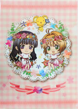 Cardcaptor Sakura Collab Flower Garden Cafe Character Clear File