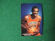 1981-82 UVa Basketball Pocket Schedule -Featuring 3-time NCAA POTY Ralph Sampson