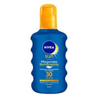 (49,75€/L) 200ml Nivea Sun Pflegendes Sonnenspray LSF 30 Hoch Wasserfest UVA UVB