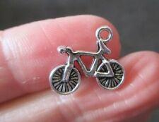 Pack of 15 Tibetan Silver Bike Bicycle Charms 15mm x 13mm Pendants
