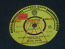 "Sacha Distel:  It can happen to you  7""  UK PROMO"