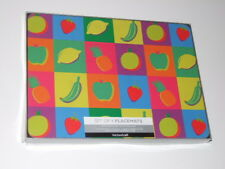 Kitchen Craft Fruit Cork Backed Set of 4 Placemats