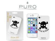 PURO COVER CUSTODIA IPHONE 4 4S ROCK'N'ROLL TESCHIO COLLEZIONE HAPPINESS