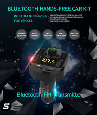 Bluetooth Car FM Transmitter, MP3 Player, Hands Free Calling, Mic, USB Charger