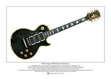 Peter Frampton's Gibson Les Paul Custom Limited Edition Fine Art Print A3 size