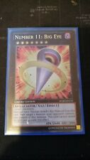 Number 11: Big Eye WGRT-EN102 Ultra Rare Mint Yugioh Card