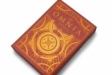 Omnia Antica Deck Playing Cards Poker Size EPCC Custom Limited Ed. New Sealed