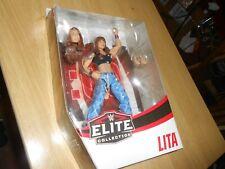 WWE ELITE TARGET EXCLUSIVE ROYAL RUMBLE SERIES LITA NOC