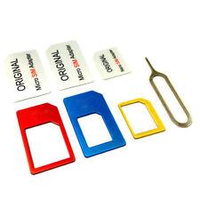 Nano SIM Card to Micro Standard Card Adapter Adaptor Converter for iPhone6 5 4