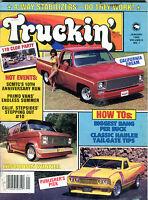 Truckin' Magazine January 1985 California Dream EX 021916jhe