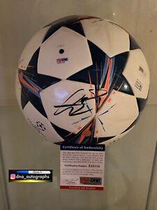 GARETH BALE SIGNED BALL REAL MADRID SIGNED BALL  BAS COA (3