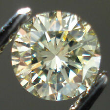 Fiery 7 MM 1.10 Carat Off White Round Brilliant Cut Loose Moissanite For Ring