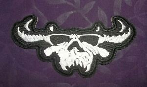 Misfit Misfits Legacy Of Brutality Patch Badge Embroidered Iron on Applique Souvenir Accessory
